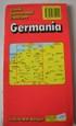 grandi carte stradali 1:800.000 - GERMANIA