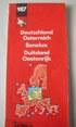 grandi carte stradali MICHELIN N. 987 - GERMANIA - AUSTRIA - BENELUX - DUITSLAMD