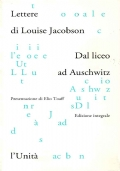 DAL LICEO AD AUSCHWITZ - Lettere di Louise Jacobson