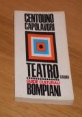 DIZIONARIO DI CENTOUNO CAPOLAVORI, TEATRO CLASSICO, ROBERTO REBORA, GUIDE CULTURALI BOMPIANI 9, Prima edizione Giugno 1967.