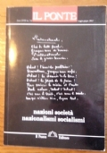 NAZIONI SOCIET� NAZIONALISMI SOCIALISMI