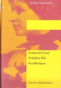Leutnant Gustl. Fräulen Else, Zwei Erzählungen (TEDESCO – DEUTSCH – ARTHUR SCHNITZLER)