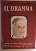 Il Dramma. Quindicinale di commedie di grande successo diretto da Lucio Ridenti, anno XIX, n. 402 - 403, 15 maggio - 1 giugno 1943