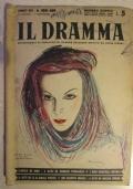 Il Dramma. Quindicinale di commedie di grande successo diretto da Lucio Ridenti, anno XIX, n. 408 - 409, 15 agosto - 1 settembre 1943