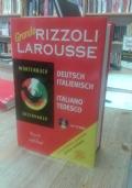 DIZIONARIO TEDESCO-ITALIANO SANSONI GRANDE NUOVO! PENULTIMA EDIZIONE EQUIVALENTE (Rizzoli)