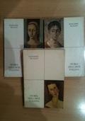 Storia dell'arte italiana - tre volumi