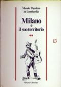 Milano e il suo territorio 2 volumi