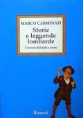 STORIE E LEGGENDE LOMBARDE - con testo dialettale a fronte