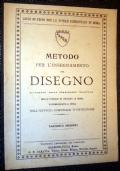 METODO PER L'INSEGNAMENTO DEL DISEGNO FASCICOLO QUARTO 1903