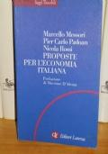 Proposte per l'economia italiana