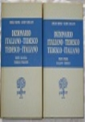 Dizionario Italiano-Tedesco; Tedesco Italiano