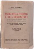 STORIA DELLA FILOSOFIA E DELL'EDUCAZIONE