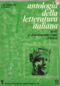 ANTOLOGIA DELLA LETTERATURA ITALIANA testi e documentazione critica volume 1