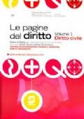 Le pagine del diritto - volume 1  - Diritto civile