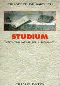 Studium (versioni latine per il biennio)