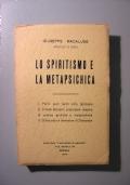 LO SPIRITISMO E LA METAPSICHICA