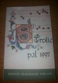Il Strolic Furlan pal 1997