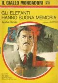 (AGATHA CHRISTIE) GLI ELEFANTI HANNO BUONA MEMORIA 1973 GIALLO MONDADORI N.1278