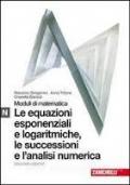 MODULO N BIANCO - EQUAZIONI ESPONENZIALI E LOGARITMICHE, LE SUCESSIONI E L�ANALISI NUMERICA.