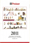 CATALOGO PREISER 2011 DI MODELLISMO