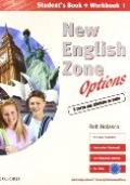 NEW ENGLISH ZONE OPTIONS - Student's book + workbook 1