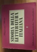 Storia della letteratura italiana volumi 1 e 2