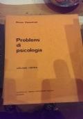 problemi di psicologia. edizione ridotta