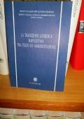 La tradizione giuridica napoletana tra stato ed amministrazione