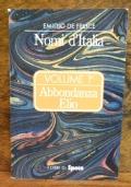 Nomi d' Italia , volume 1° , Abbondanza Elio