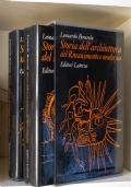 STORIA DELL'ARCHITETTURA DEL RINASCIMENTO E MODERNA
