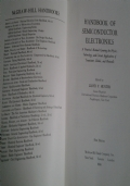 Hanbook of Semiconductor Electronics