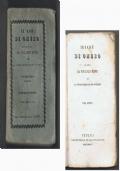 ILIADE Trad. di VINCENZO MONTI - 1837 - Vol. 1