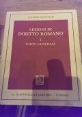 lezioni di diritto romani I parte generale