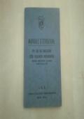 NOMENCLATORE ORGANICO TATTICO LOGISTICO,ROMA 1936