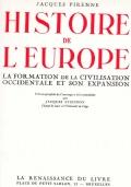 HISTORIE DE L'EUROPE I° TOMO et II° TOMO