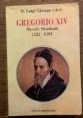 GREGORIO XIV NICCOLO' SFONDRATI 1535 - 1591