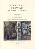 I De Chirico e i Savinio del Teatro alla Scala. Mostra prima