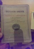 Breviarium Romanum proprium sanctorum a die 1 frebruarii usque ad diem 25 martii