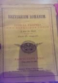 Breviarium Romanum officia pro aliquibus locis a die 21 maji usque ad diem 27 augusti