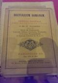 Breviarium Romanum officia pro aliquibus locis a die 27 Novembris usque ad diem 26 februarij