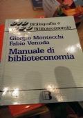 Manuale di biblioteconomia.