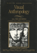Visual anthropology. Volume 5, Numbers 3-4, 1992