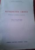 Benedetto Croce : profilo storico-critico