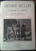 Niccolò De' Lapi ovvero i Palleschi e i Piagnoni di Massimo D'Azeglio con illustrazioni di Quinto Cenni.