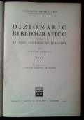 Dizionario bibliografico delle riviste giuridiche italiane con i sommari analitici 1960