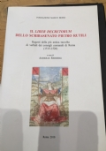 il liber decretorum dello scribasenato pietro rutili. regesti della più antica raccolta di verbali dei consigli comunali di roma