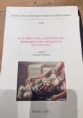 il classico nella letteratura romanesca del novecento