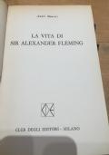 la vita di sir alexander fleming