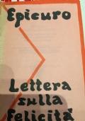 Lettera sulla felicità testo a fronte