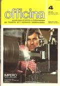 Officina (n 4 Anno XX - 1975) MECCANICA PRATICA –  MACCHINE A TRASFERTA LINEARE – BARRE DI ALESATURA – DURATA ECONOMICA DEGLI UTENSILI DA TAGLIO